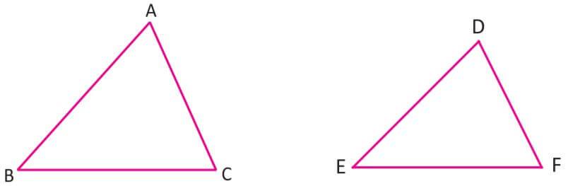 Üçgenlerde Eşlik ve Benzerlik